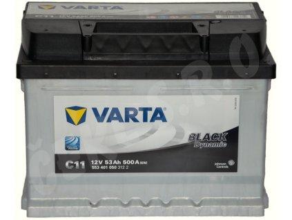 Autobaterie VARTA Black dynamic 53Ah , C11