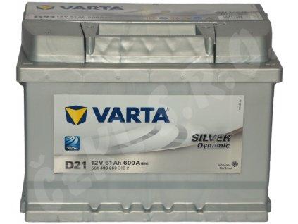Autobaterie VARTA Silver dynamic 61Ah , D21