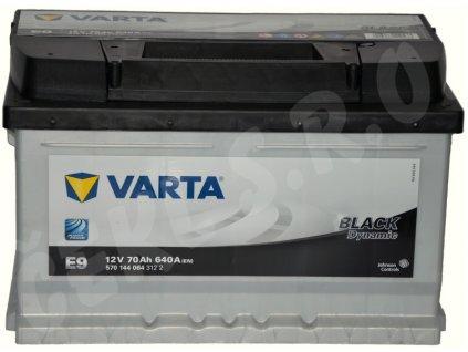 Autobaterie VARTA Black dynamic 70Ah , E9