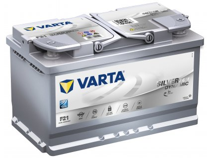 Autobaterie VARTA Silver AGM (Start - Stop Plus) 80Ah , F21