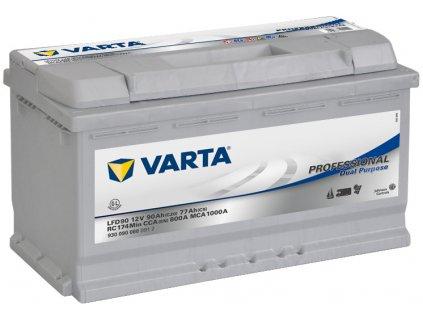 VARTA Professional Dual Purpose (Deep Cycle) 90Ah , LFD90