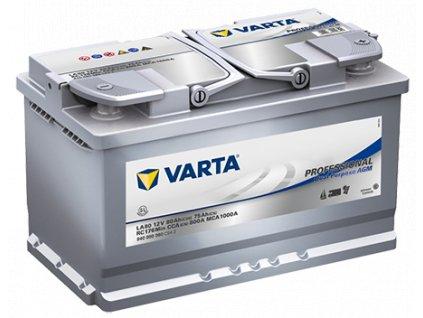VARTA Professional Dual Purpose AGM 80Ah , LA80