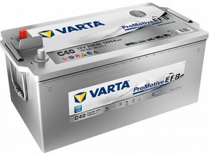 Autobaterie VARTA ProMotive EFB 240Ah , C40