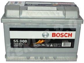 Autobaterie BOSCH S5 008, 77Ah (0 092 S50 080)