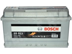 Autobaterie BOSCH S5 013, 100Ah (0 092 S50 130)