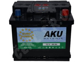 Autobaterie  EURO POWER 44Ah