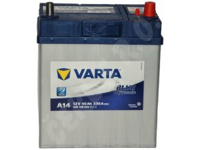 Autobaterie VARTA Blue dynamic 40Ah , A14 (Asia Typ)