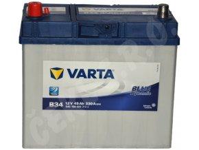 Autobaterie VARTA Blue dynamic 45Ah L , B34 (Asia Typ)