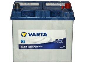 Autobaterie VARTA Blue dynamic 60Ah , D47 (Asia Typ)