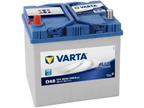 Autobaterie VARTA Blue dynamic 60Ah L , D48 (Asia Typ)