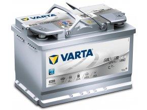 Autobaterie VARTA Silver AGM (Start - Stop Plus) 70Ah , E39