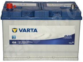Autobaterie VARTA Blue dynamic 95Ah L , G8 (Asia Typ)