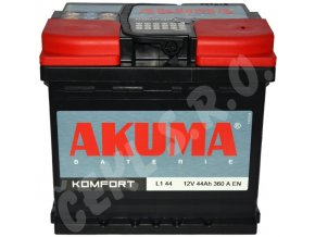 Autobaterie  AKUMA Komfort 44Ah