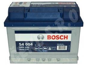 Autobaterie BOSCH S4 004, 60Ah (0 092 S40 040)