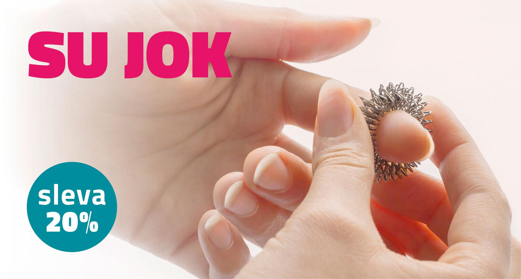 Masážní akupresurní prstýnek SU JOK