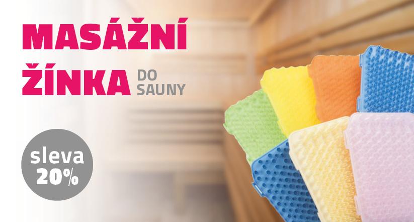 Masážní žínka do sauny