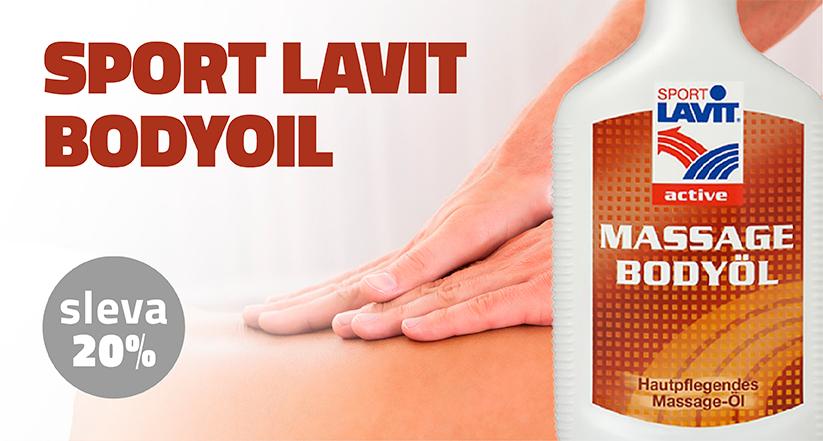 Sport Lavit Bodyoil Masážní Olej 200 ml