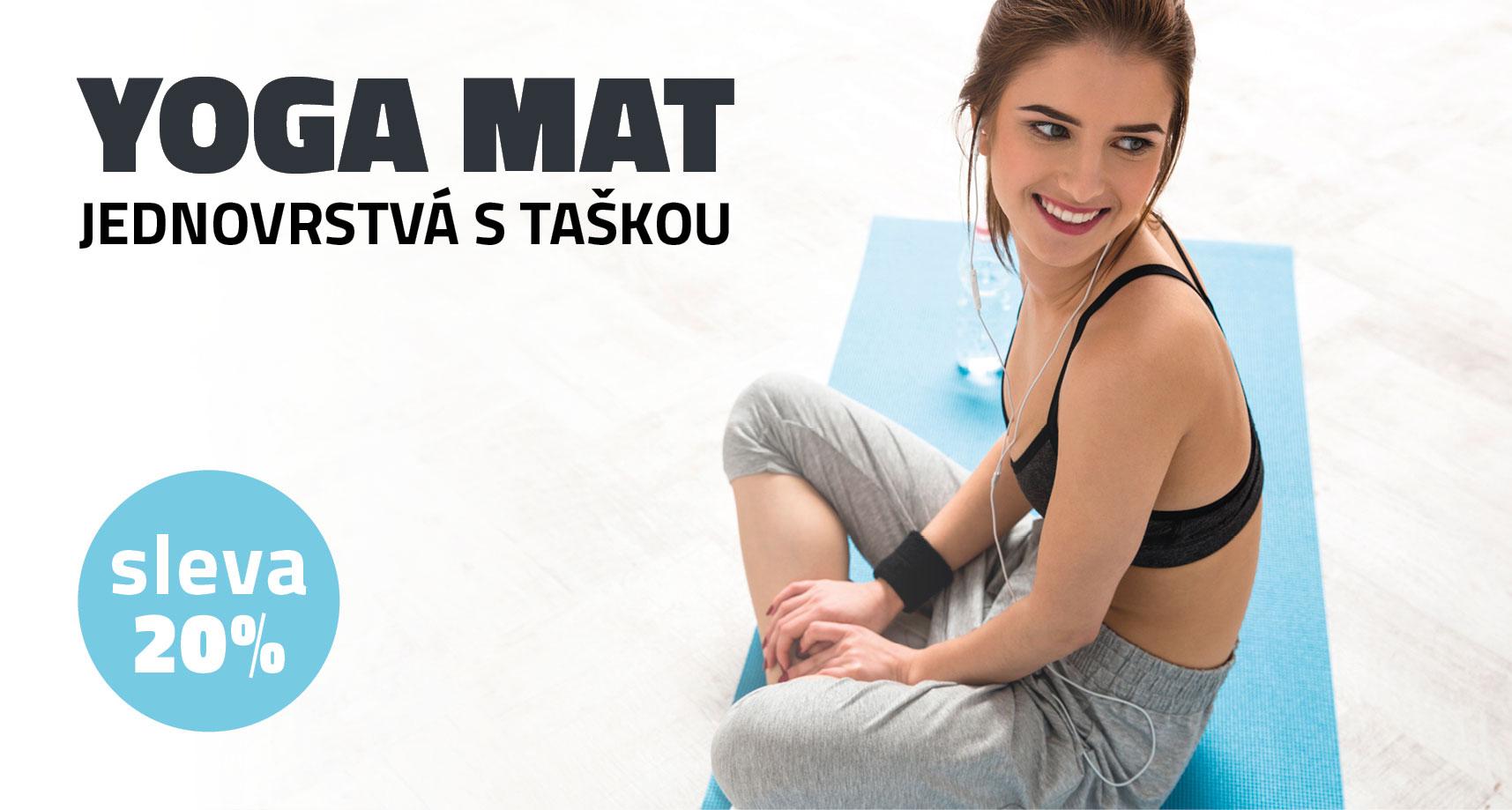 Yate Yoga Mat vč. TAšky