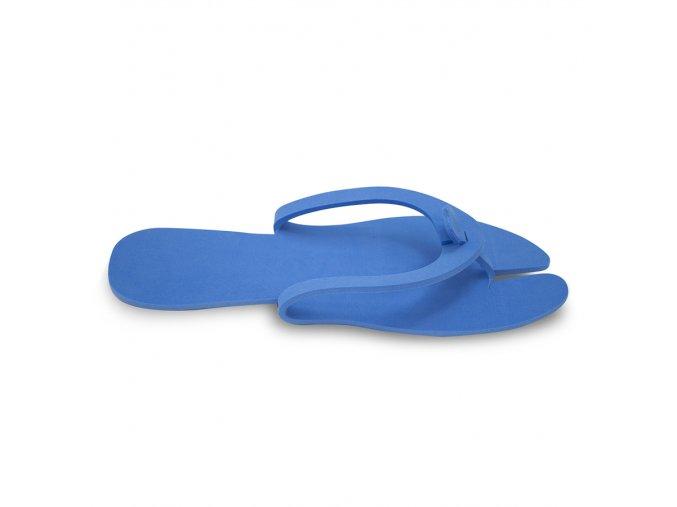 cestovní pantofle modrá