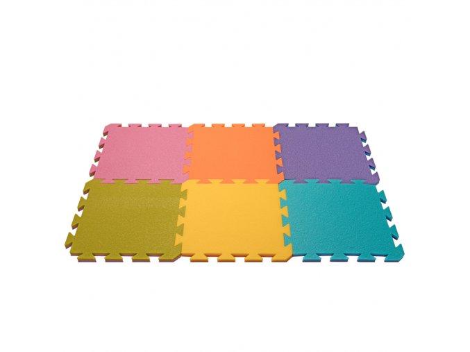YATE Pěnový koberec dvoubarevný