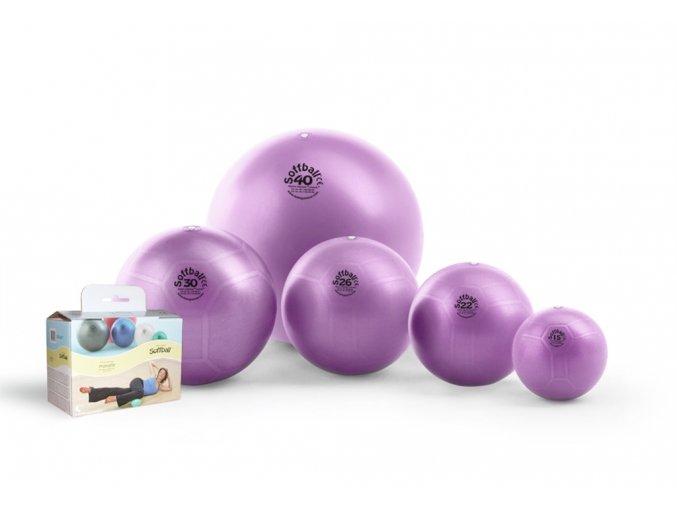 Soffball Maxafe 40 cm fialová barva