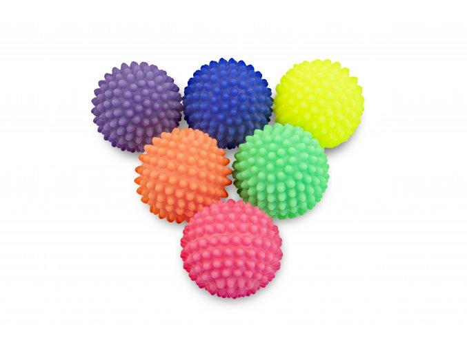 Masážní reflexní míček s bodlinkami 6 cm