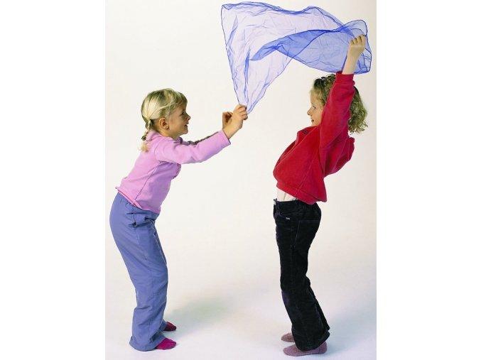 Šátek pro psychomotorická cvičení
