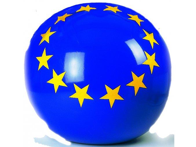Míč s logem Evropské unie 100 cm Euroball