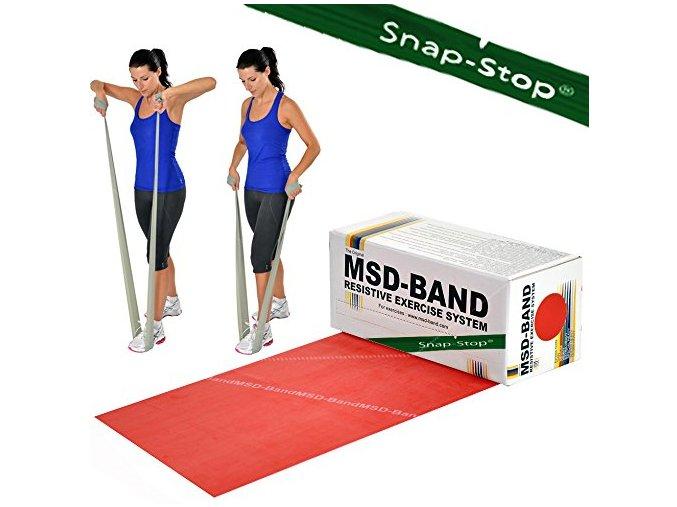 MSD Band červená