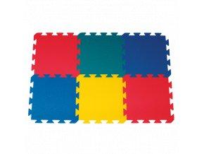 YATE Pěnový koberec barevný