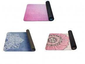Yoga mat se vzorem 4mm