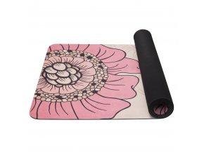 SA04713 YATE Yoga Mat prirodni guma vzor F 4 mm