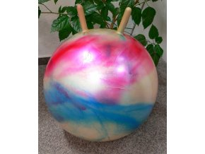 Skákací míč Gymball s uchy 55 cm