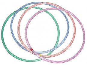 Gymnastická obruč na cvičení barevná