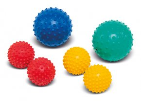 Masážní míček Activa small 9/12 cm s bodlinkami