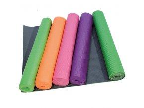 YATE Yoga mat jednovrstvá vč. tašky