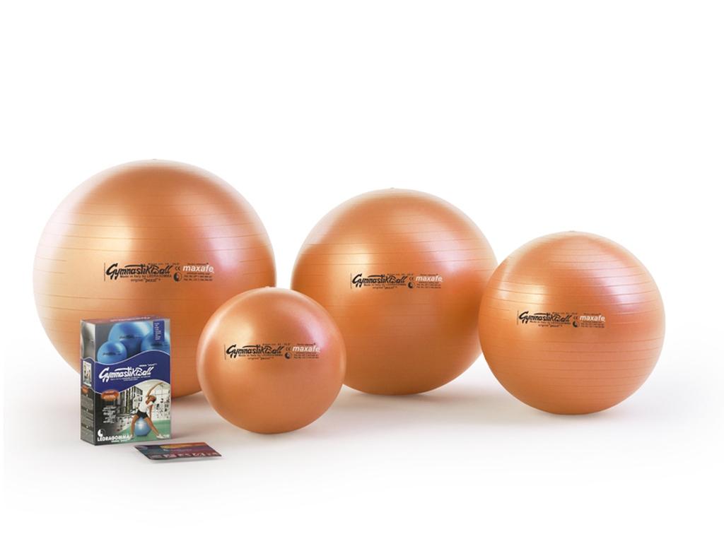Gymnastik Ball Maxafe 65 cm barva: oranžová
