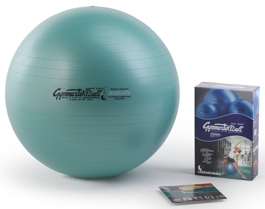 Gymnastik Ball Maxafe 65 cm barva: Zelená