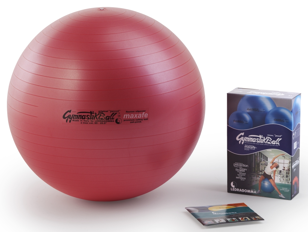 Gymnastik Ball Maxafe 75 cm barva: červená