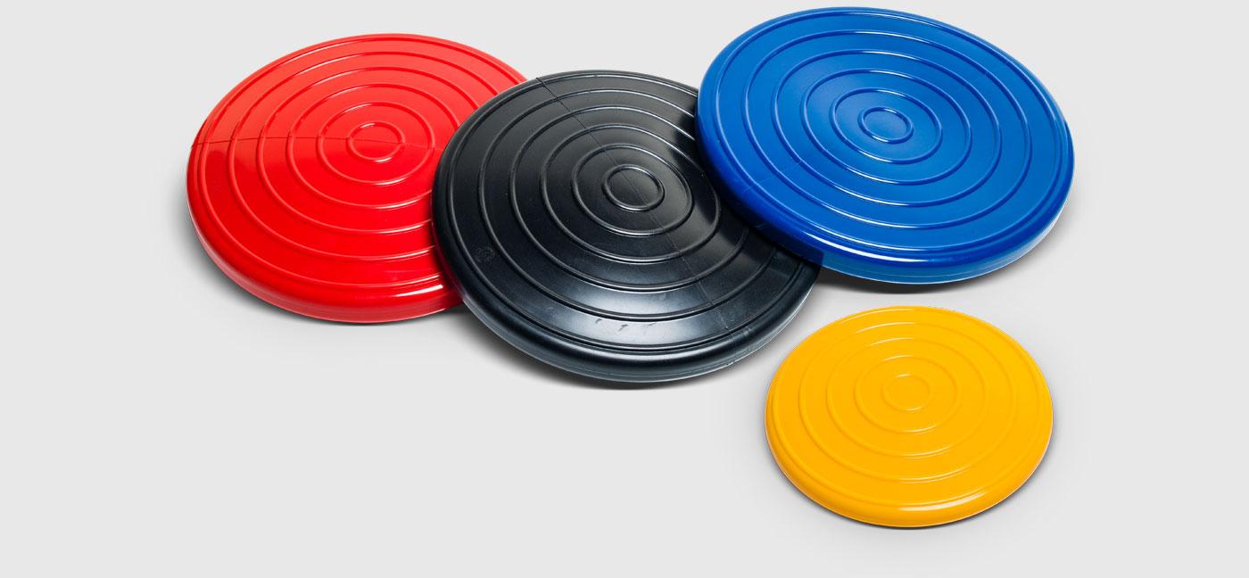 Podložka Activa Disc Standard 40 cm barva: Modrá