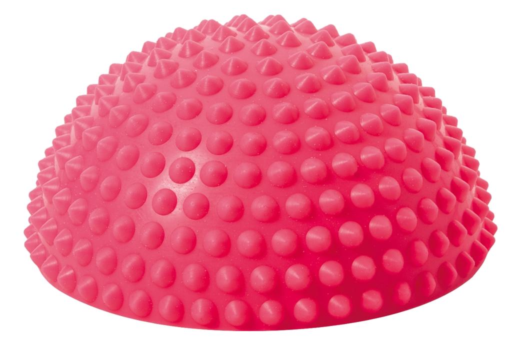 Balanční polokoule Senso Balance Igel s bodlinkami barva: růžová