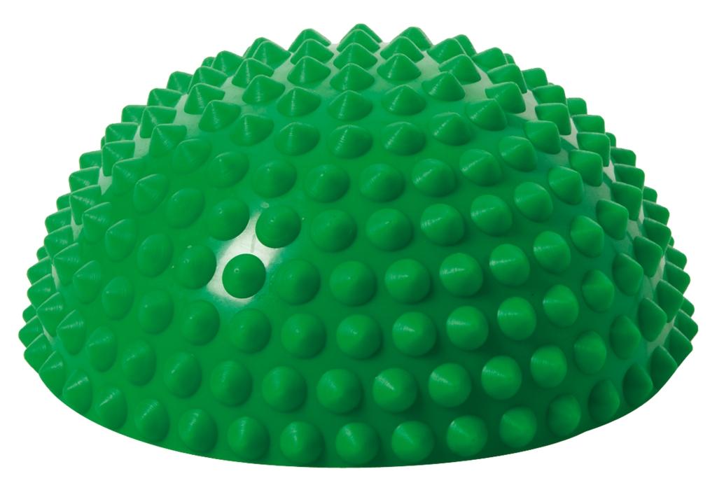 Balanční polokoule Senso Balance Igel s bodlinkami barva: Zelená
