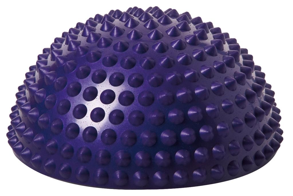 Balanční polokoule Senso Balance Igel s bodlinkami barva: fialová