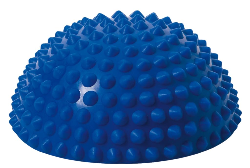 Balanční polokoule Senso Balance Igel s bodlinkami barva: Modrá