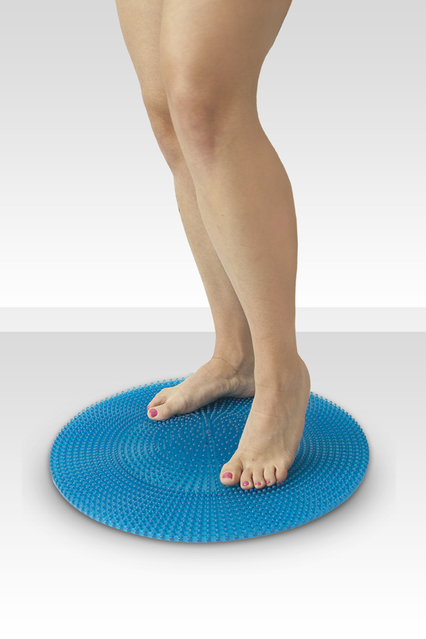 Kruhová masážní podložka na nohy 48 cm s bodlinkami