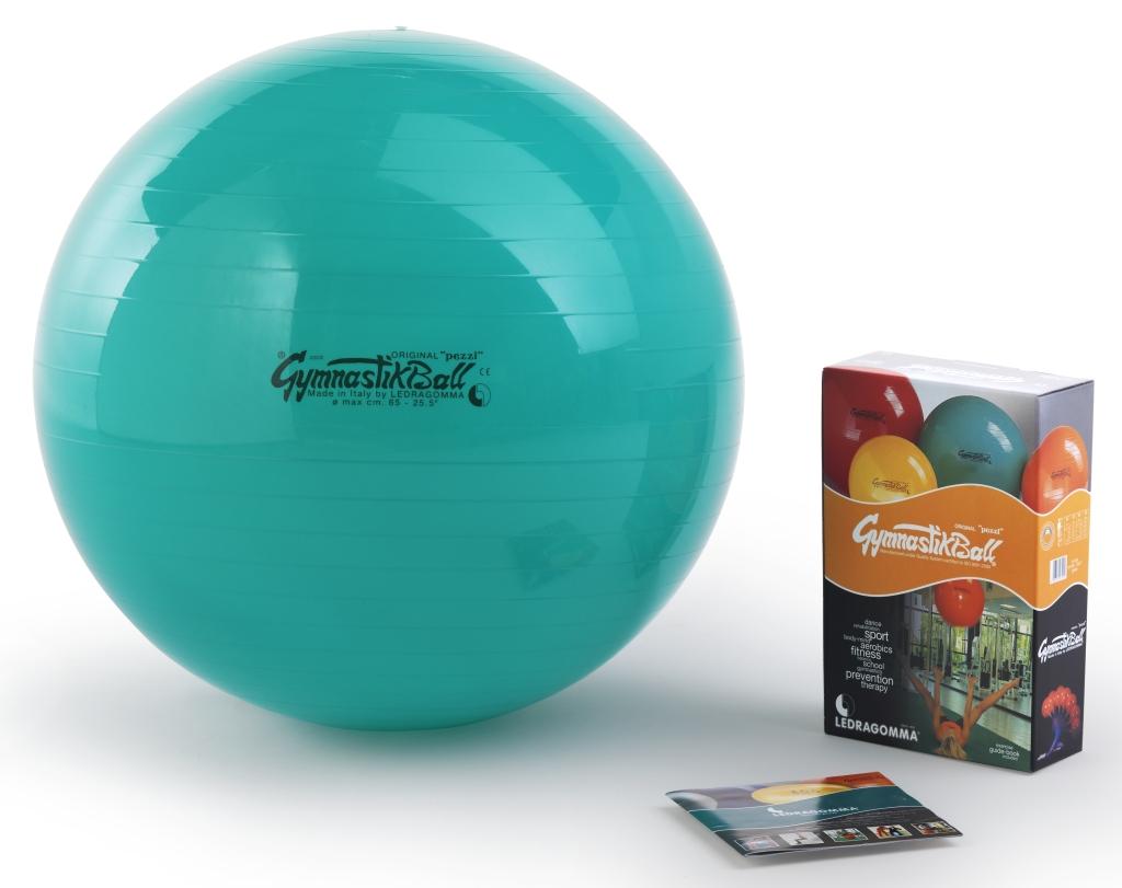 Gymnastik Ball Standard 65 cm barva: zelená