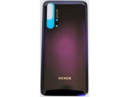 back cover for Honor 20 Pro phantom black