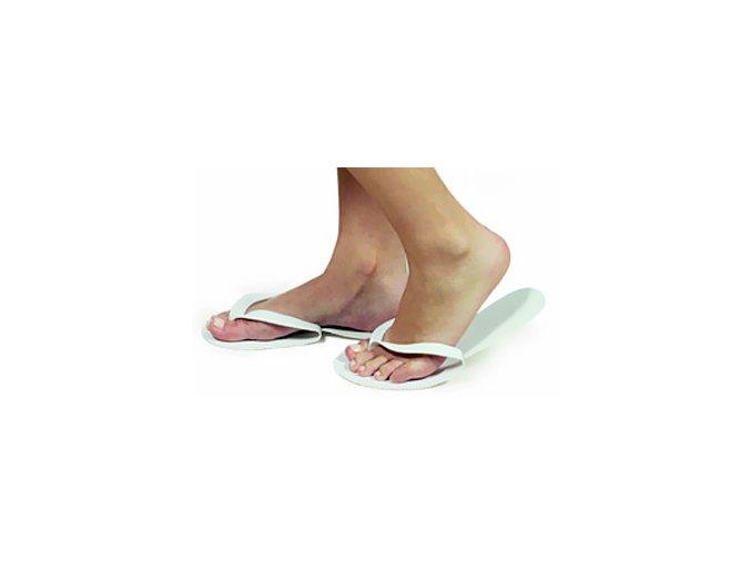 Pantofle mezi prsty - Zapatillas Abiertas