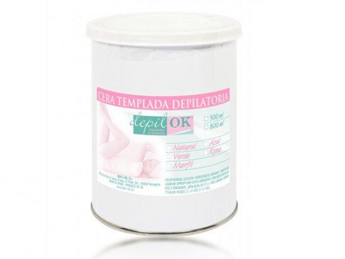 Depilační vosk natural Depil-OK 800g