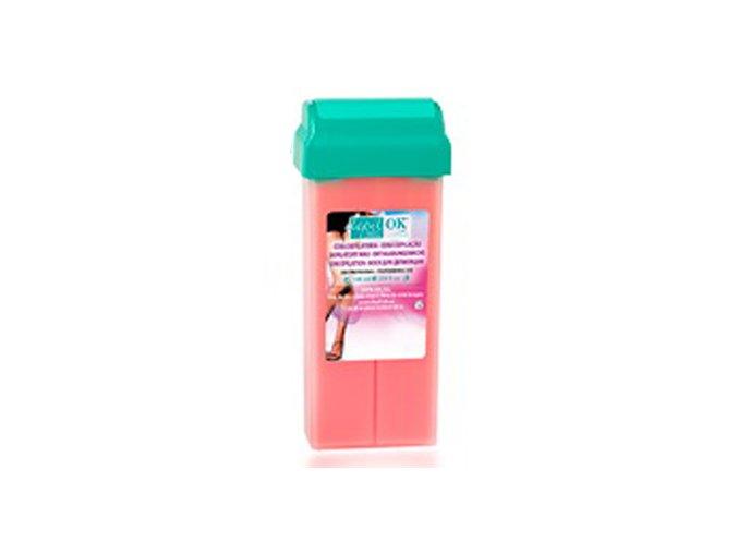 Depilační vosk růžový 100g Roll on